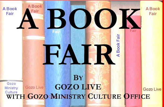 Book Fair by Gozo Live - Opening next Thursday at the Exhibition Hall