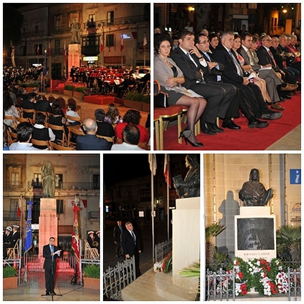 Gozo Day commemorated with a band concert held in Victoria