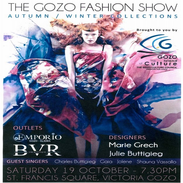 Fashion & song evening to start off the Gozo autumn/winter season