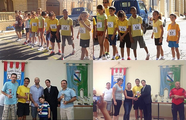 9 youngsters from Gozo-Greyhounds participate in Sannat 2km race