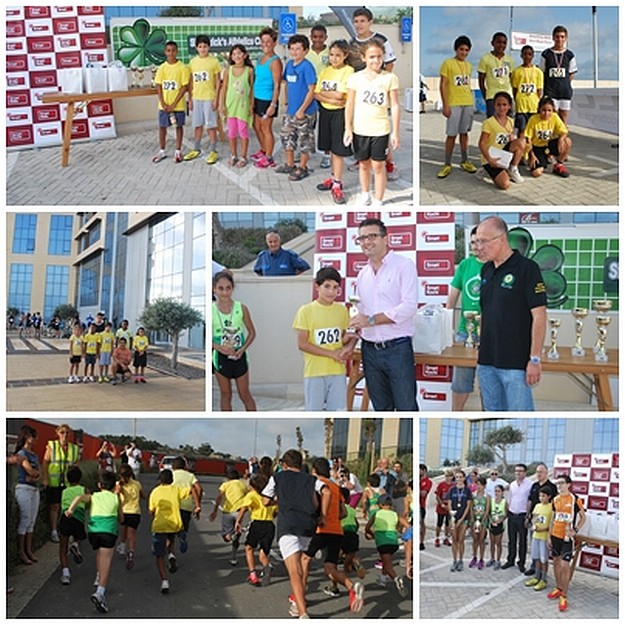Gozo-Greyhounds Youth Athletic Club team race at Smart City
