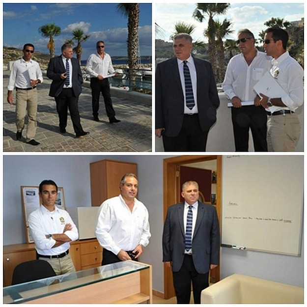 Minister for Gozo visits the Zewwieqa Waterfront and Mgarr Marina
