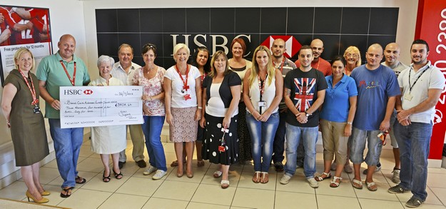 HSBC UK Contact Centre Malta raises funds for breast cancer awareness