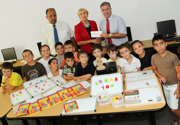 HSBC Malta supports Klabbsajf complementary summer education
