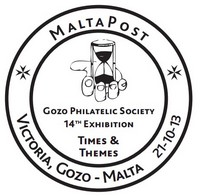 Special Hand Postmark – Gozo Philatelic Society 14th Edition