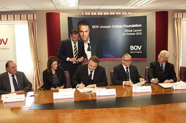 BOV Joseph Calleja Foundation is launched to help underprivileged