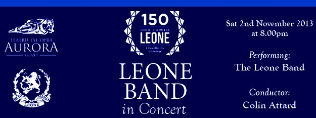 Leone Band celebrates with its annual concert at the Aurora Gozo