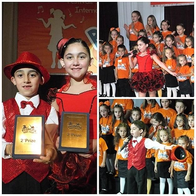 Young Gozitan singers placed second at 'Prishtina Kids Fest'  in Kosovo