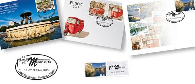 MaltaPost to participate in Maltex Philatelic Exhibition 2013