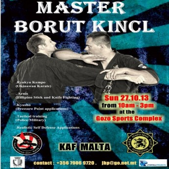 International Martial Arts Seminar in Gozo with Master Borut Kincl