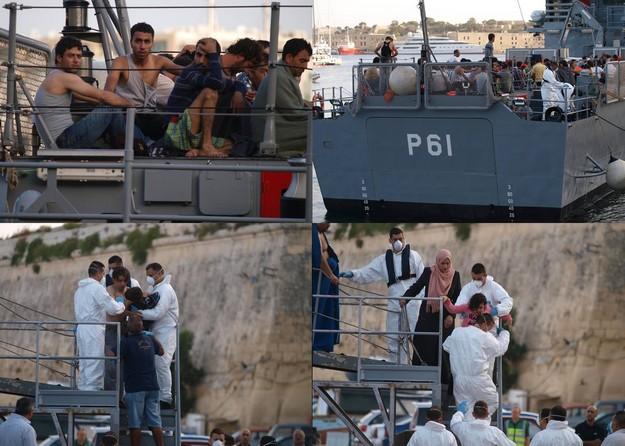 147 men, women & children arrive in Malta after search & rescue incident