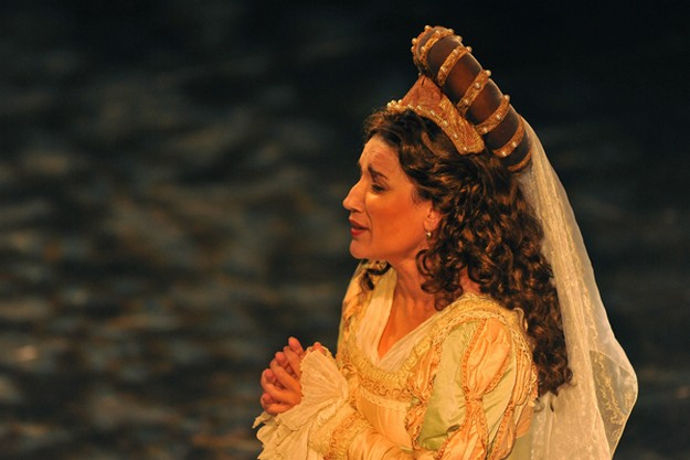 Miriam Cauchi starring as Desdemona in Otello at the Teatru Astra