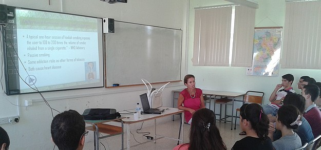 Educational talk on cannabis and shisha for Gozo secondary students