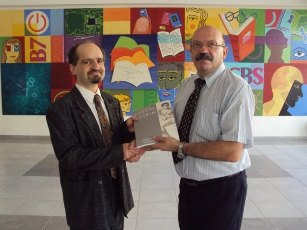 Copy of GODWIN DESSIN presented to Gozo College Boy's Secondary