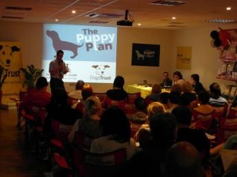 Puppy Plan © seminar a milestone with lots of positive feedback