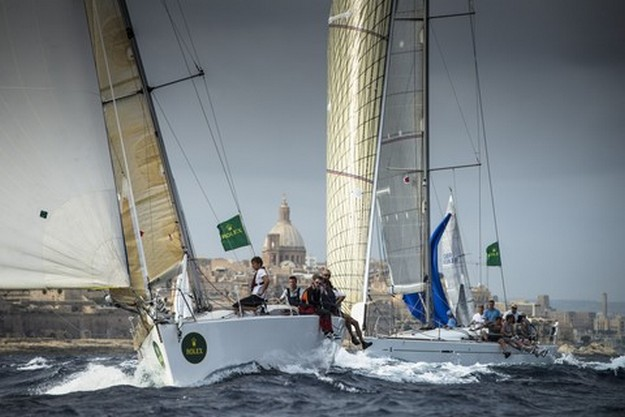 2013 edition of the Rolex Middle Sea Race gets underway tomorrow