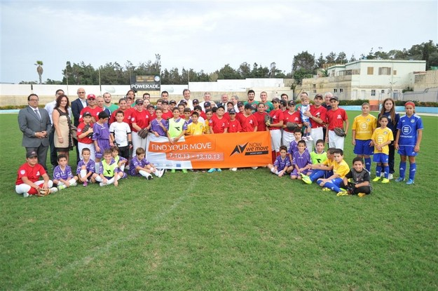 'Move Week' sports festival for children held at the Gozo Stadium