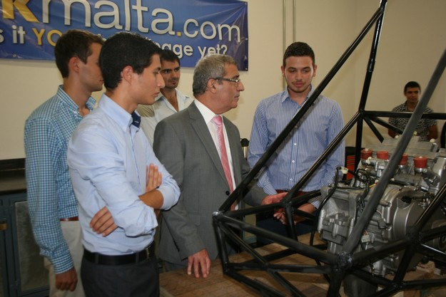 University of Malta Racing team designing & building Formula style car