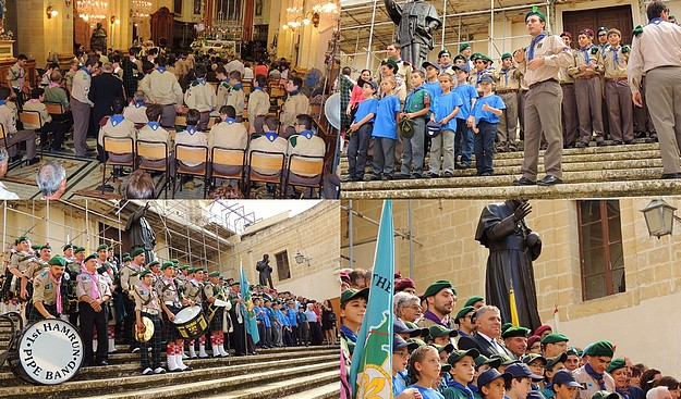 Victoria Scout Group 50th anniversary Parade & Thanksgiving Mass