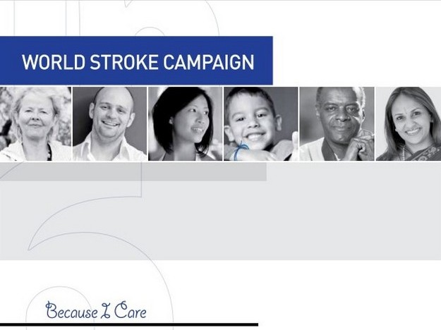 Campaign launch for World Stroke Day commemorated on Tuesday