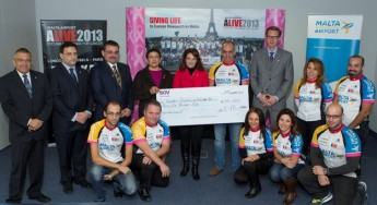 ALIVE 2013 raised the sum of €55,000 to benefit breast cancer research