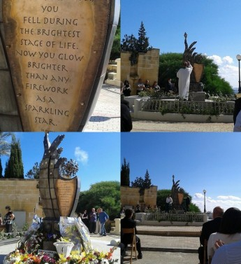 Monument inaugurated commemorating the life of Bryan Portelli