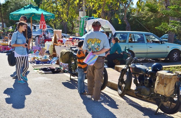 Car boot sale in Marsalforn on Sunday organised by the Arka Foundation