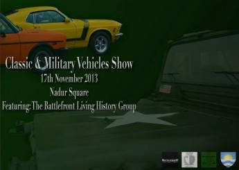 Classic & Military Vehicles Show with Battlefront Living History Group