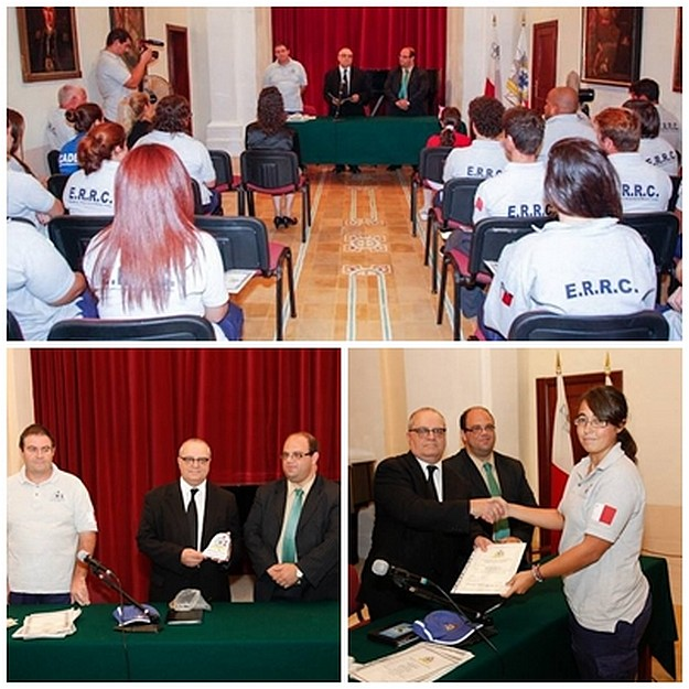 ERRC Certificate Presentation Ceremony held at Ministry for Gozo