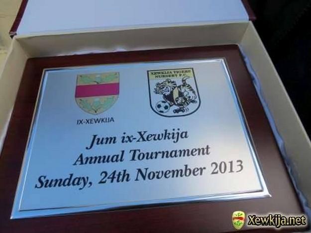 Jum ix-Xewkija Football Tournament organised by Xewkija Tigers Youth Nursery