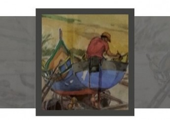 Exhibition of watercolours by Francis Webb at Heart of Gozo Museum