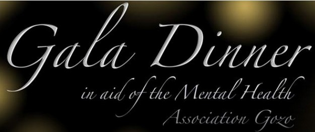Gala Dinner this Saturday in aid of the Mental Health Association Gozo