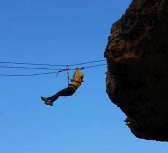 'Gozo Adventure Festival V2' thrills the public at spectacular Wied il-Mielah