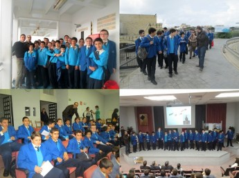 GC Boys' Secondary School students attend Discover University Week