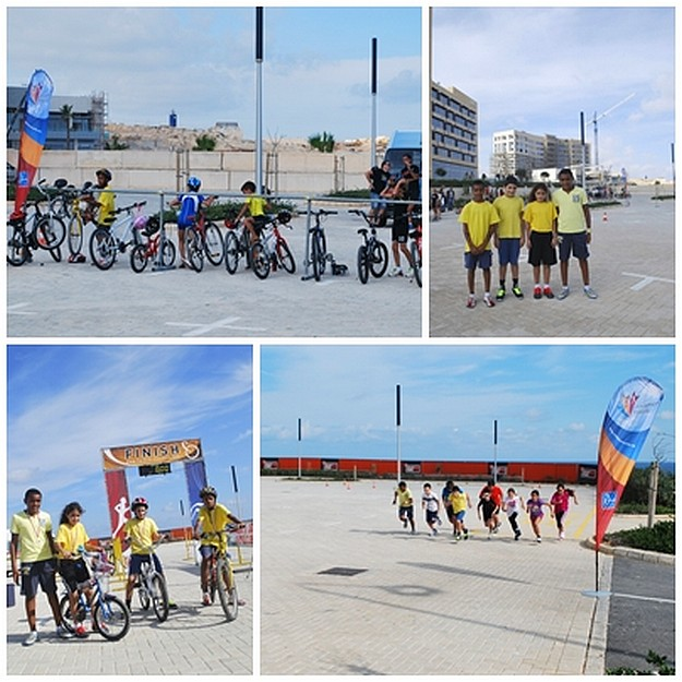 Young team from Gozo-Greyhounds Youth Athletic Club race in Malta