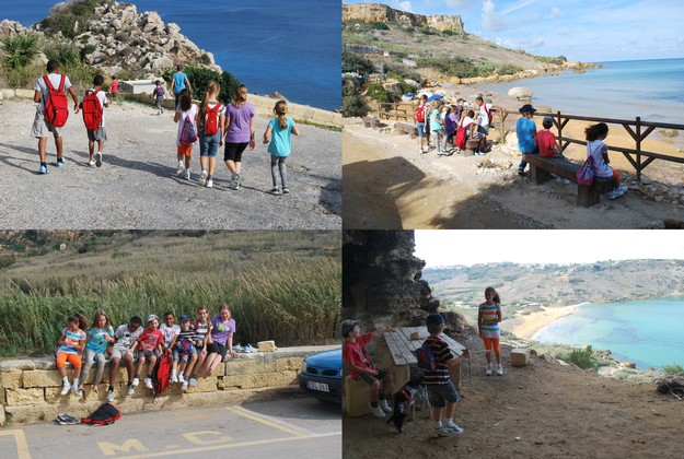 Charity hike across Gozo from Mgarr to Dwejra this coming Saturday