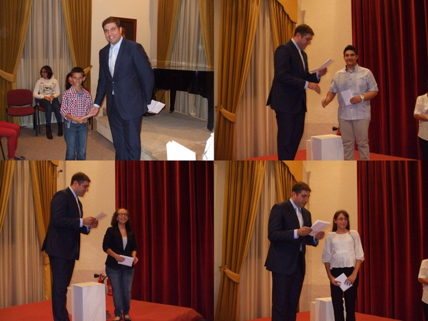 Prizes awarded to winners of Gozo Live Children's writing competition
