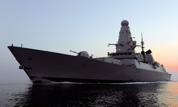 HMS Dragon on visit to Malta and will be open to the public on Monday