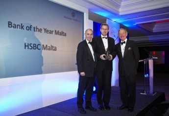 HSBC Malta wins Financial Times The Banker Awards three years running