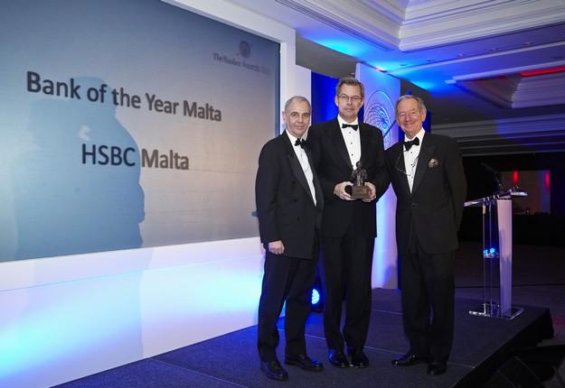 HSBC Malta wins Financial Times The Banker Awards three years running