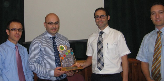 Sir M.A. Refalo Sixth Form awarded HASEBA for promoting health & safety