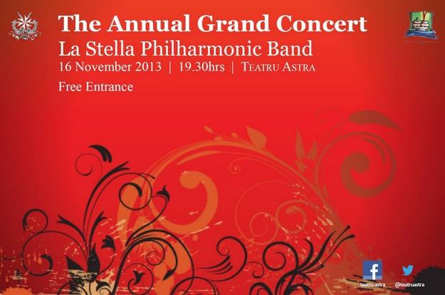 La Stella Philharmonic Band's 'Annual Grand Concert' this Saturday