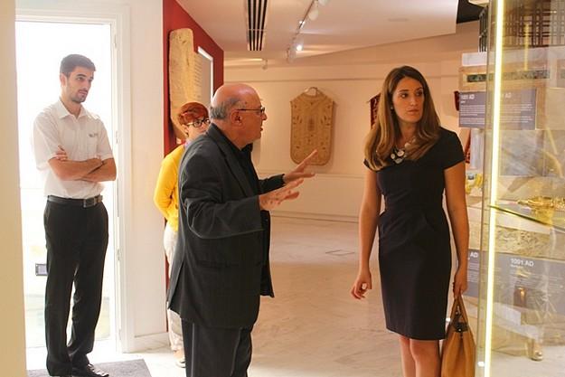 MEP Roberta Metsola visits Il-Hagar | Heart of Gozo Museum in Victoria