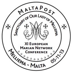 Special hand postmark – XI European Marian Network Conference