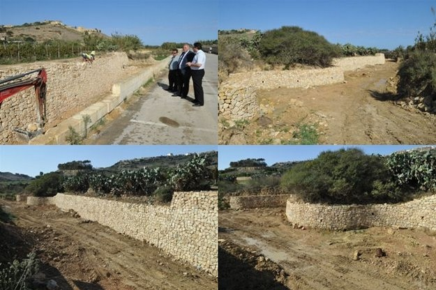 Maintenance works now fully completed at Ramla valley in Gozo