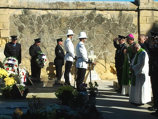 Memorial Service held for departed members of the Gozo Police Force