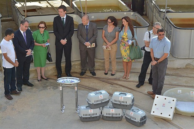 Vodafone Malta sponsors equipment for NTM's Wildlife Rescue Team