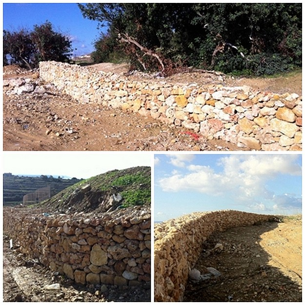 Works continuing on the Grunju recreational park and picnic area in Qala