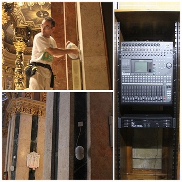 Refurbishment completed on the sound system at St George's Basilica
