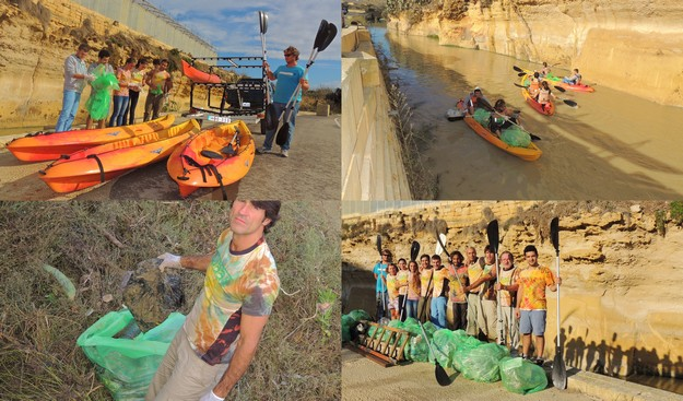 We are all One successful first event - Gozo valley clean-up operation